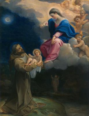 Лодовико Карраччи. Видение святого Франциска