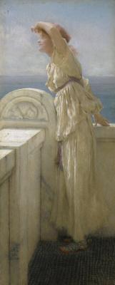 Lawrence Alma-Tadema. Hopeful