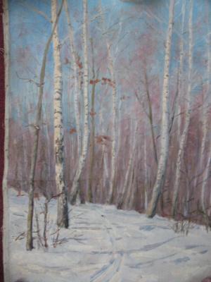 Ivan Andreevich Panteleev. Winter