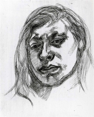 Lucien Freud. Yearning