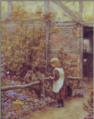 Хелен Аллингем. Бабочка