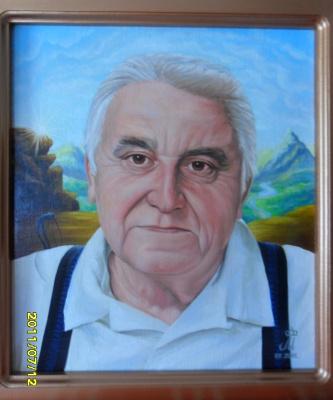 Миша Матвеев. Портрет отца товарища