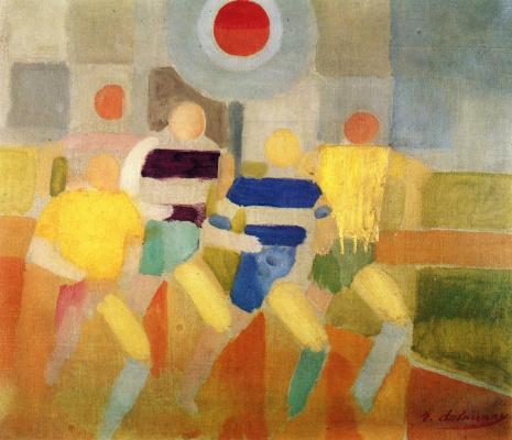 Robert Delaunay. Race Walkers