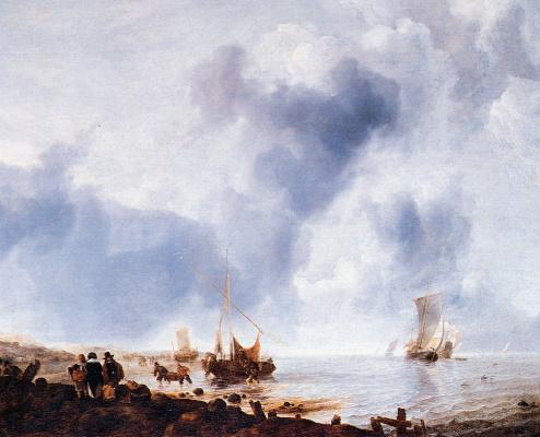 Ван Ян Каппель. Суда вдоль побережья
