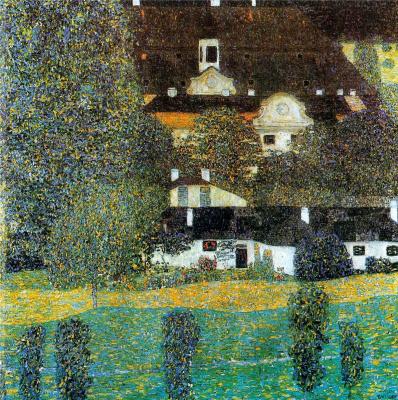 Gustav Klimt. Kammer castle on lake Attersee II