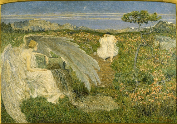 Giovanni Segantini. Love is the source of life