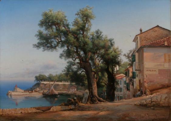 Nikolay Ivanovich Yurasov. Landscape of france