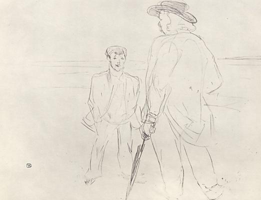 Henri de Toulouse-Lautrec. The velodrome