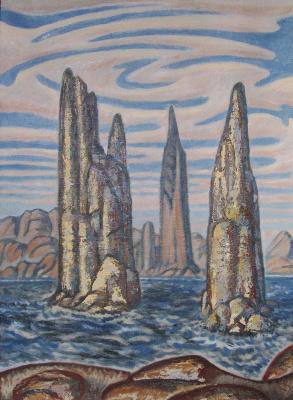 Сергей Николаевич Симкин. Between two seas