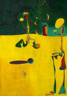 Joan Miro. Nocturne