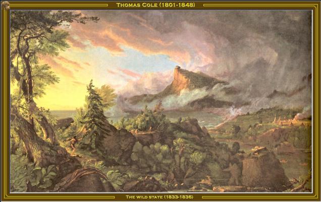 Thomas Cole. Savage state
