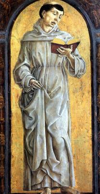 Козимо Тура. Святой Антоний Падуанский