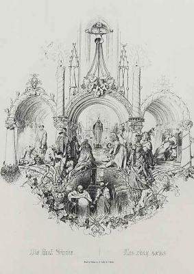 Adolf Friedrich Erdmann von Menzel. Five senses