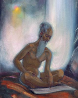 Svyatoslav Nikolaevich Roerich. Plot 1