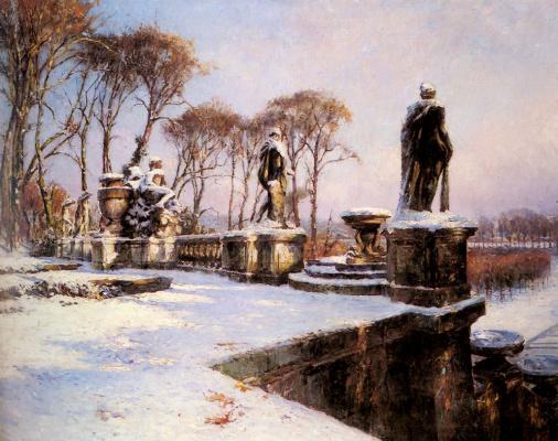 Поль Леон Фрекунез. Облака снега