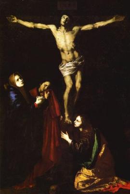 Jose de Ribera. The crucifixion