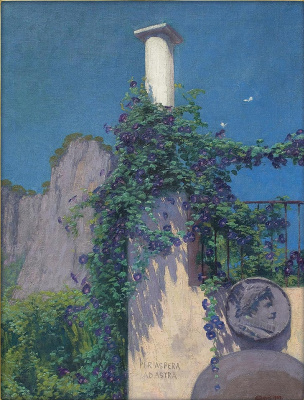 Edward Perch. Landscape