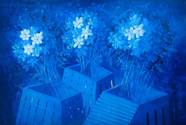 Alexey Ivanovich Kopalkin. City Flowers