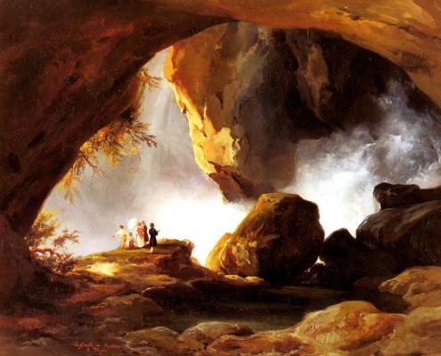 Джозеф Жан Шарль Ремонд. Пещеры Нептуна в Тиволи