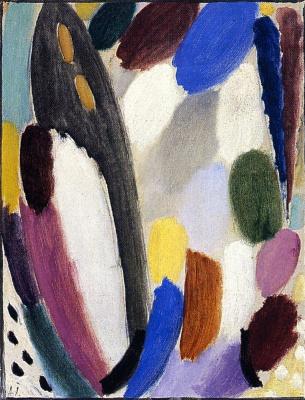 Alexej von Jawlensky. Variation: color game