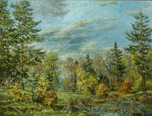 Victor Vladimirovich Kuryanov. Autumn edge