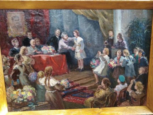 Ivan Alexandrovich Shvedov. Presentation of the certificate.