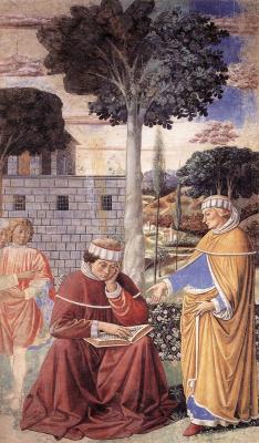 Беноццо Гоццоли. Аврелий Августин