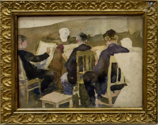 Николай Андреевич Шелюто. В студии