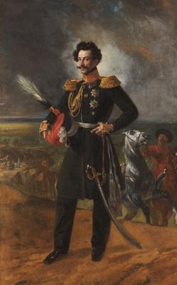 Karl Pavlovich Bryullov. Portrait of General-adjutant count Vasily Alekseevich Perovsky