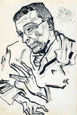 Oskar Kokoschka. Karl Kraus