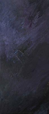 "Alla Struchayeva. Painting ""Dawn on Mars"""