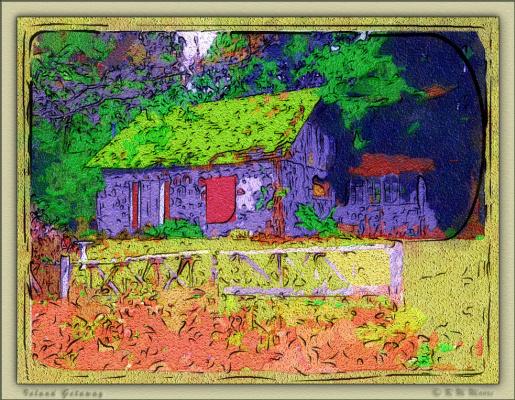 Р. М. Мур. Яркий дом