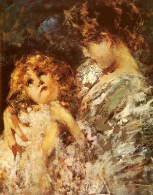 Винченцо Иролли. Мать и дитя