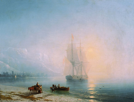 Ivan Aivazovsky. Calm sea