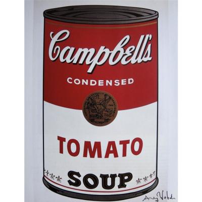 Банка с супом Кэмпбелл (томатный)