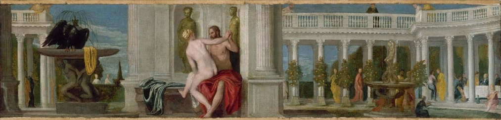 Paolo Veronese. Jupiter and Diona