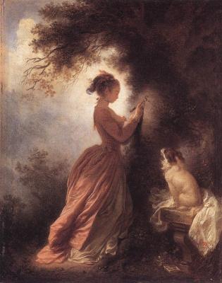 Jean Honore Fragonard. Memory