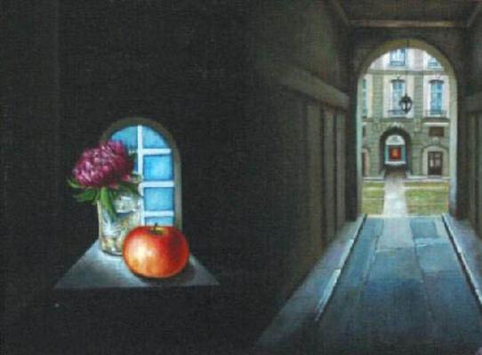 Vladimir Vasilyevich Abaimov. The Paris Still-life