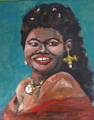 Alesya Zueva. Creole