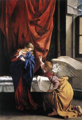 Orazio Gentileski. The Annunciation