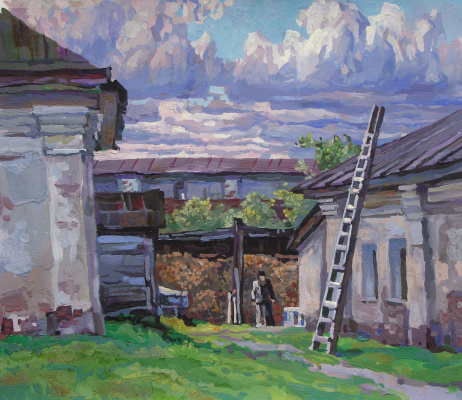 Oleg Borisovich Zakharov. The worldly ladder. Borisogleb.