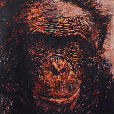 Gilad Efrat. Untitled (Monkey)