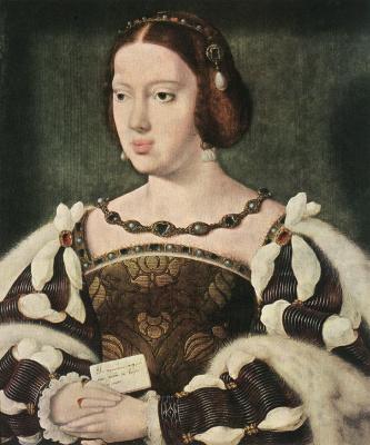 Йос ван Клеве. Портрет Элеоноры королева Франции