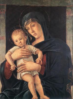 Джованни Беллини. Дева с ребенком (Греческая Мадонна)