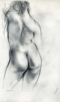 George Grosz. Nude woman