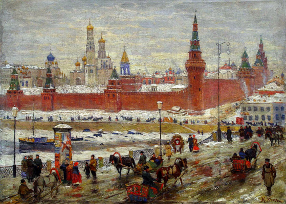 Konstantin Fedorovich Yuon. Old Moscow