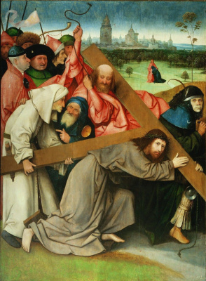 Hieronymus Bosch. The Carrying Of The Cross