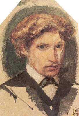 Mikhail Vrubel. Self-portrait