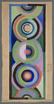Sonia Delaunay. Color rhythm