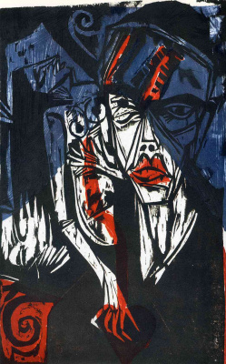 Ernst Ludwig Kirchner. The battle